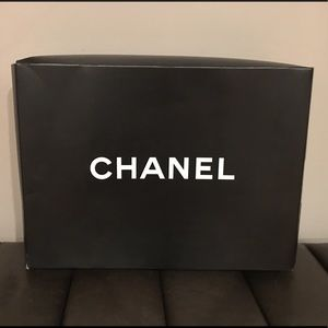 Authentic Chanel Shopping Tote Gift Box